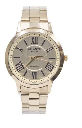 Relógio Atlantis Gold Dourado G3470