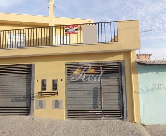 Sobrado Com 2 Dormitórios Para Alugar, 120 M² Por R$ 1.150/mês - Caxangá - Suzano/sp - So0617