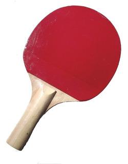 Raqueta De Ping Pong Athletic Roja