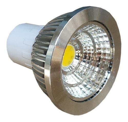 Imagen 1 de 7 de Foco Led 3w Dicroico Para Base Mr16 Gu10 Aluminio Oferta Bb3