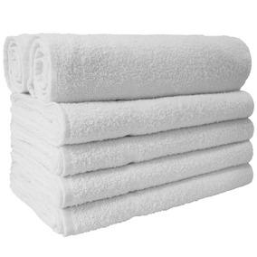 Toalha De Rosto Para Salão Kit Branco 12 Unidades - Promoção