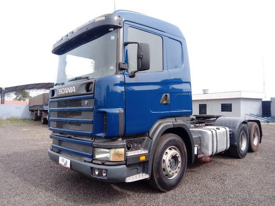 Scania 124 G 420 6x2 Diesel Azul 2005