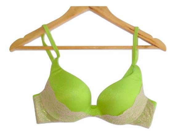 Victorias Secret Incredible Push Up Bra 34b Lemon