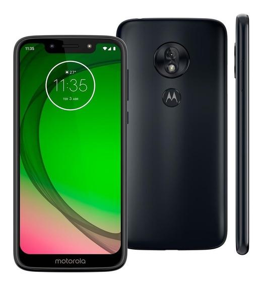 Smartphone Motorola Moto G7 Play Xt1952 Azul Indigo Tela5.7