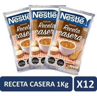 Manjar Nestle Receta Casera 1kg Pack X12