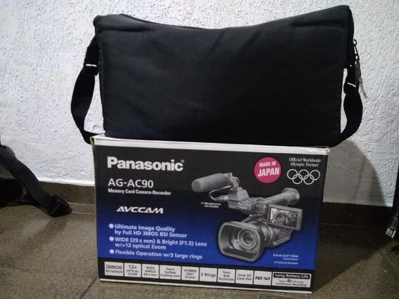 Camera Filmadora Panasonic Ag Ac90