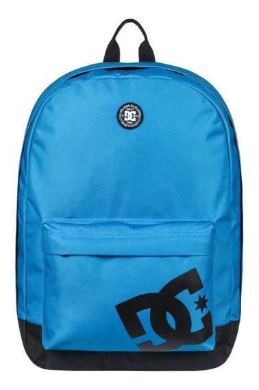 Mochila Dc Backstack Azul Con Negro 119112 Dc 9004