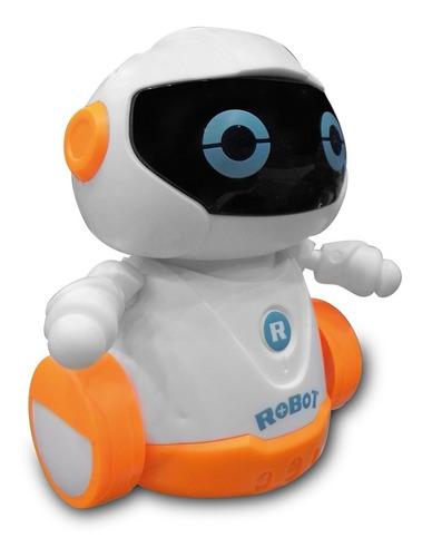 Robot Interactivo Camina Siguiendo Lineas Con Luz Y Sonido