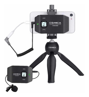Microfono Profesional Para iPhone Y Android Comica Cvm-ws50