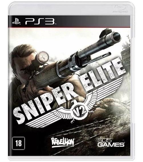 Jogo Ps3 Sniper Elite V2 - Novo - Lacrado