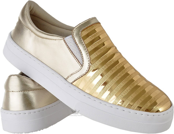 Sapato Tênis Feminino Estilo Alpargatas Slipper Confort Leve