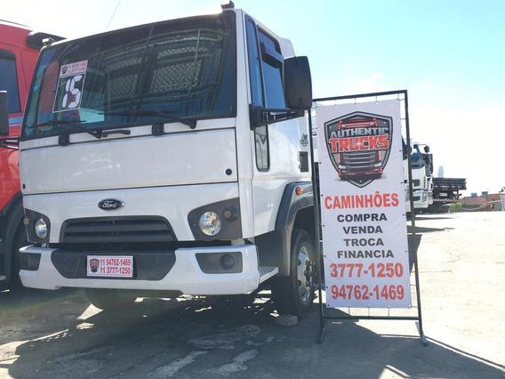Ford Cargo 816 Guincho Plataforma 6 Metros Com Asa Delta