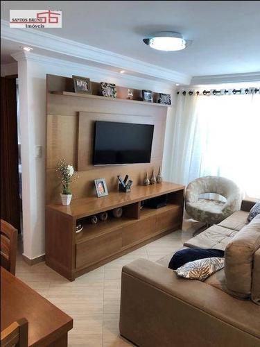 Apartamento À Venda, 50 M² Por R$ 220.000,00 - Freguesia Do Ó - São Paulo/sp - Ap3744