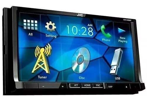 Radio Automotivo 7 Touch Dvd Bluetooth Usb Jvc Kw-v40bt