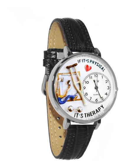 Fisioterapeuta Reloj De Plata (grande)