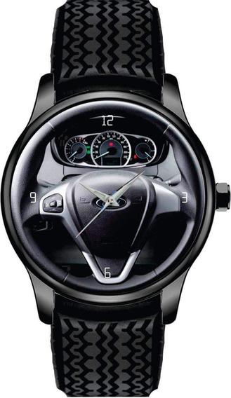 Relógio De Pulso Personalizado Painel Volante Ford Ka