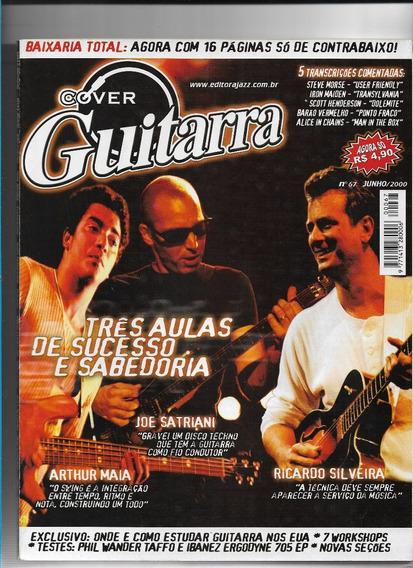 Cover Guitarra Ed67 Revista Joe Satriani Arthur Maia Ricardo