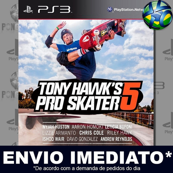 Tony Hawks Pro Skater 5 Ps3 Psn Jogo Em Promoção Play 3