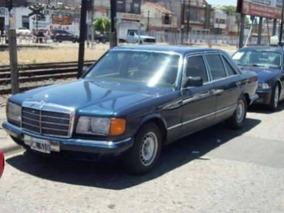 Mercedes Benz 280 Sel Mod. 85 Con Gnc Excelente Estado!!rota