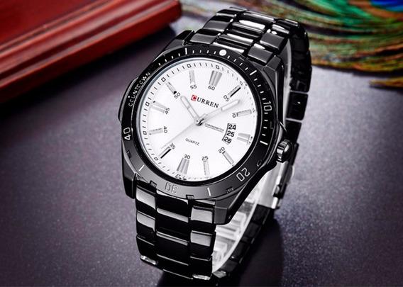 Relógio Masculino Curren Resistente Ótima Qualidade