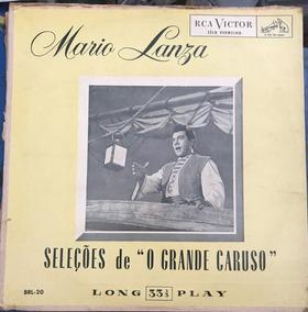Lp Mario Lanza - Seleções De O Grande Caruso