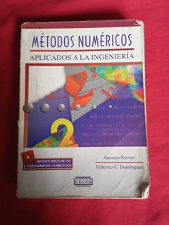 Metodos Numericos Aplicados A La Ingenieria Antonio Nieves