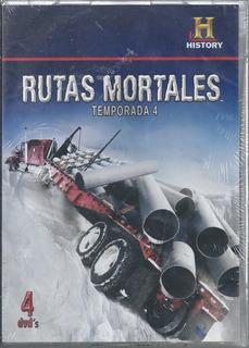 Rutas Mortales Temporada 4 Dvd Nacional