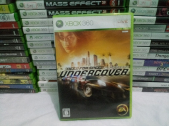 Cd Need For Speed Undercover Xbox 360 Japones Ntsc-j