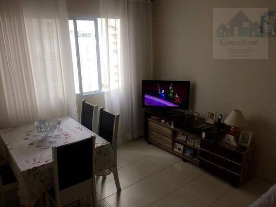 Apartamento À Venda, 50 M² Por R$ 265.000,00 - Pompéia - Santos/sp - Ap1831