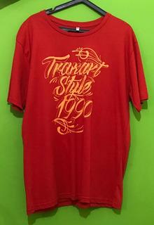 Camisa Traxart Vermelha