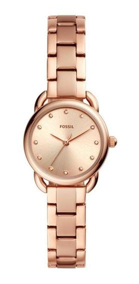 Relógio Fossil Feminino Tailor Mini Rosé Es4497/1jn
