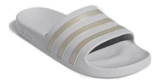 Ojotas adidas Adilette Aqua Grey Two