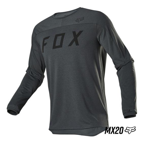 Jersey Fox Legion Dr Poxy Motocross Bici All Road Casual Mtb
