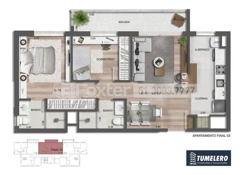 Imagem 1 de 8 de Apartamento, 2 Dormitórios, 66.78 M², Cristo Redentor - 197802