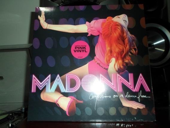 Lp Madonna Confessions On A Dance Floor - 2 Lps Cor Pink