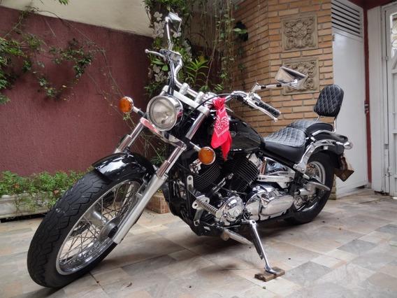Dragstar 650 Yamaha - Preta 29 Mil Km (2004)