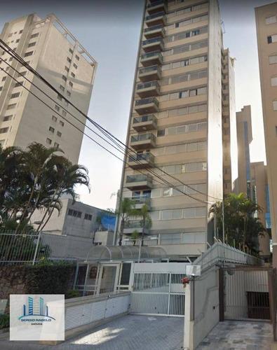 Imagem 1 de 30 de Apartamento Residencial Para Locação, Moema, São Paulo. - Ap0866