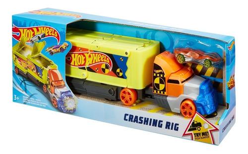 Hot Wheels  Large Scales Remolque De Choques Mattel Original