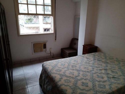 Apartamento Em Gonzaga, Santos/sp De 62m² 1 Quartos À Venda Por R$ 330.000,00 - Ap609474