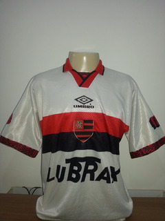 Camisa Flamengo Antiga Do Centenário Ano 1995 Umbro - 94