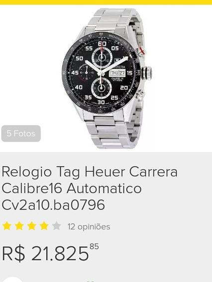 Relogio Tag Heuer Carrera Calibre16 Automatico Cv2a10.ba0796
