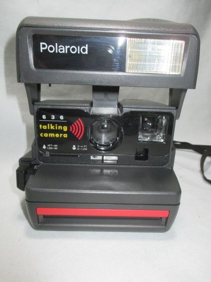 Antiga Polaroid Talking 636 Americana Anos 90