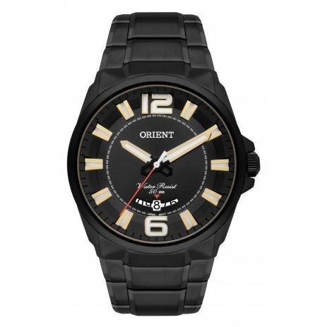 Relógio Orient Masculino Black Mpss1006 P2px