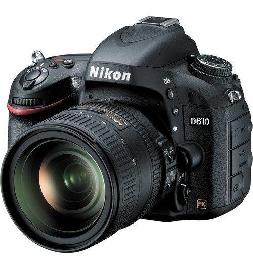 Câmera Nikon D610 Dslr Lente 24-120mm 24.3mp 12x S/juros