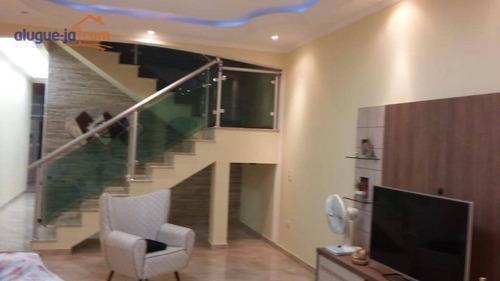 Casa Com 3 Dormitórios À Venda, 205 M² Por R$ 610.000,00 - Residencial Bosque Dos Ipês - São José Dos Campos/sp - Ca3618