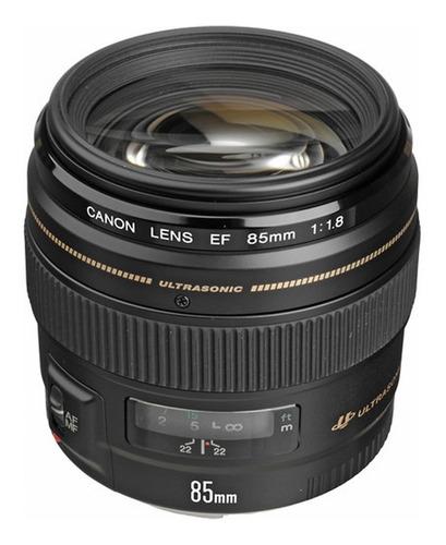 Lente Canon Ef 85mm F1.8 Usm Garantia 12meses Envio Imediato