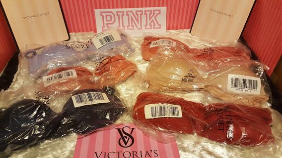 Victorias Secret Sexy Conjunto Panty+bra Varios Modelos