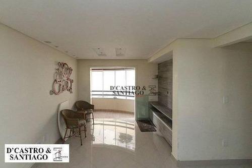 Imagem 1 de 20 de Apartamento Com 3 Dormitórios À Venda, 88 M² Por R$ 584.000 - Mooca - São Paulo/sp - Ap0587