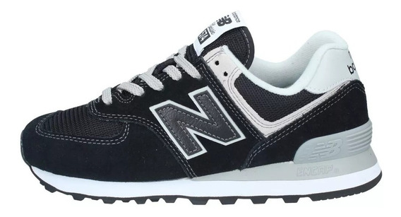 New Balance Zapatillas Mujer Wl574eb Negro / Gris Fkr