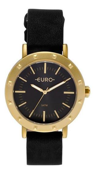 Relógio Euro Feminino Spike Fever Dourado Eu2035ypi/2p